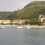 Pogled na Hotele Narcis - Hedera in Mimosa z ladje