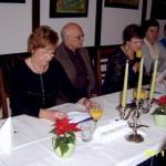 Predsednica poroča o delu Izvršnega odbora v letu 2008