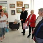 Recitaciji je pozorno prisluhnil tudi naš župan