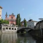 Ljubljana je lepa tudi iz žabje porspektive.