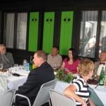 Slavju društva se je pridružil tudi Župan Ljubljane.